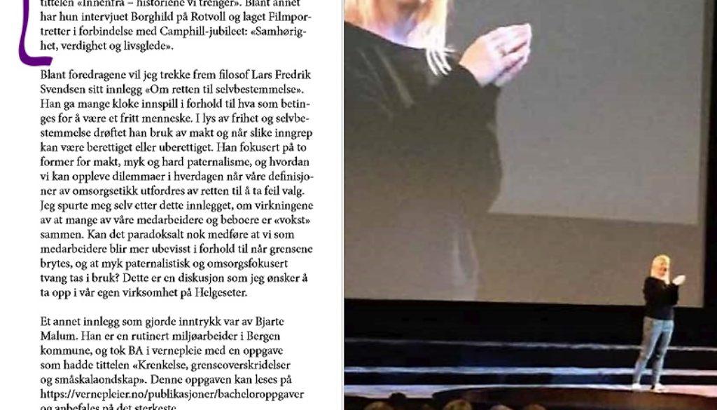 mona på sor konferanse avis