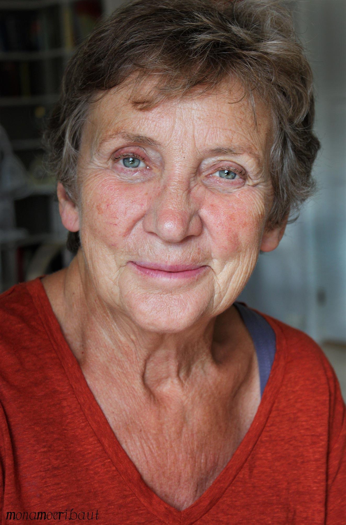 eldre dame portrett